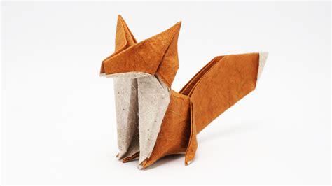Origami Fox Diagram - origami fox jo nakashima