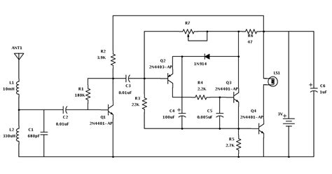lightning detector schematic basic st lightning