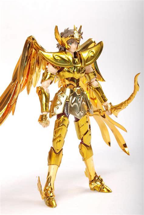 Seiya Gold Figure Set Isi 6 free shipping qq model seiya cloth myth ex sagittarius gold model in