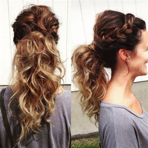 hair braided into pony tail 19 pretty ways to try french braid ponytails pretty designs