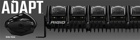 rigid industries led lighting high tech truck lighting rigid industries adapt light bar