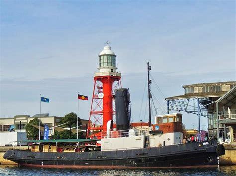 tugboat yelta port river cruise on the steam tug yelta adelaide