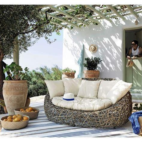 Decke Für Sofa Sitzfläche by Die Besten 25 Gartensofa Rattan Ideen Auf