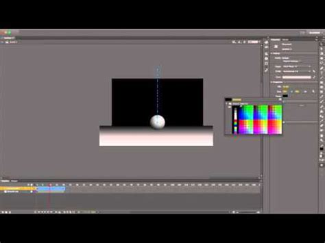 tutorial flash cc 2015 adobe flash cc 2015 bouncing ball animation tutorial