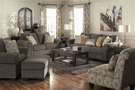 jordans furniture living room sets emelen alloy living room set 4560038 ashley