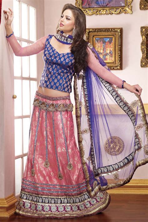 Blouse By Heaven Light Clo simple and sweet indian ethnic bridal wears