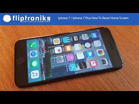 iphone 7 iphone 7 plus how to reset home screen layout fliptroniks