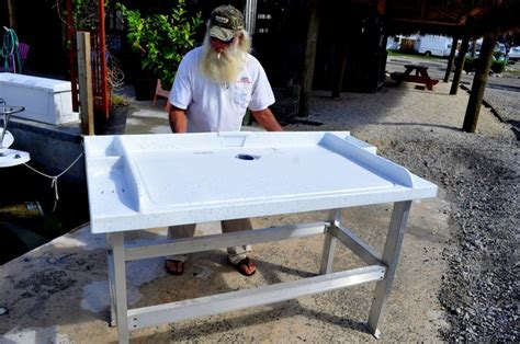 granite river outdoors fillet station table 26 best images about fish station on tables