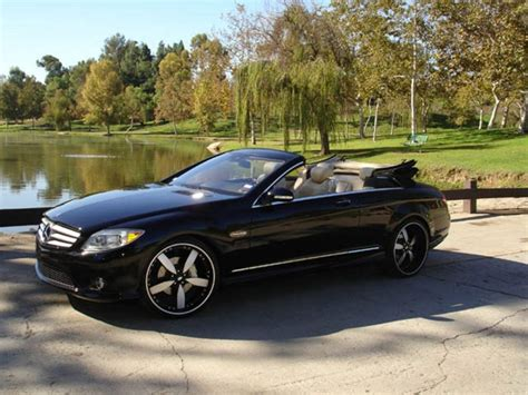 convertible mercedes black mercedes cl convertible