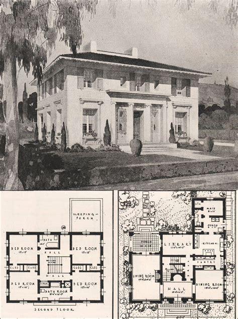 italian house plans italian renaissance style house francis pierpont davis