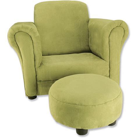 kids armchair trend lab avocado toddler chair and ottoman design