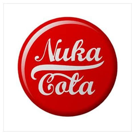 fallout nuka cola cap wall art poster retro pinterest