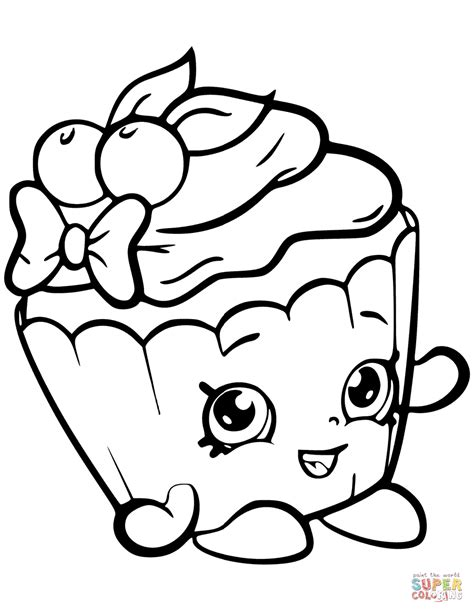 how to make coloring pages from photos cherry nice cupcake shopkin coloring page free printable