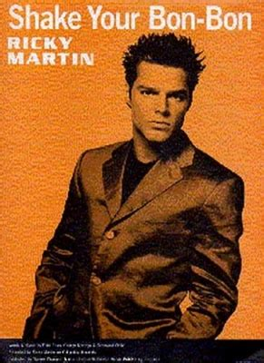 Shake Your Bon Bon by Sheet Martin Ricky Martin Ricky Shake Your Bon