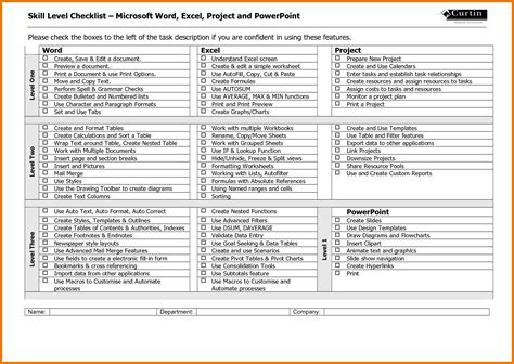 word checklist template project checklist template word www imgkid the