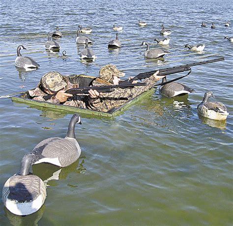 curtain blind duck hunting curtains on hatteras waterfowl carolina sportsman