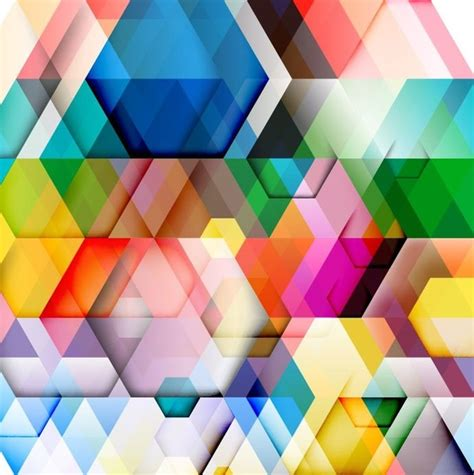 triangle web pattern abstract colorful triangle pattern background vector