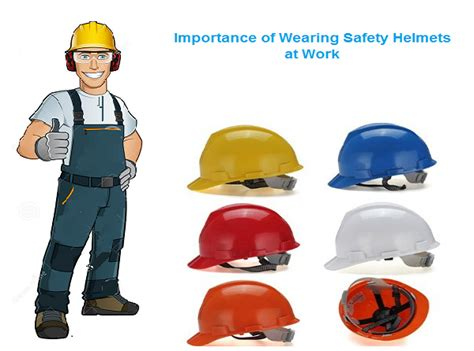 Safety Helm importance of wearing safety helmets at work