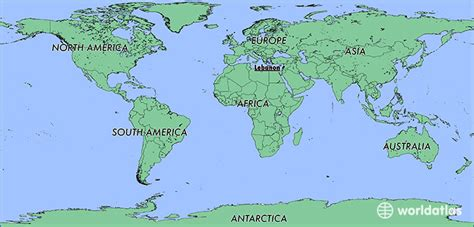 lebanon on world map where is lebanon where is lebanon located in the world