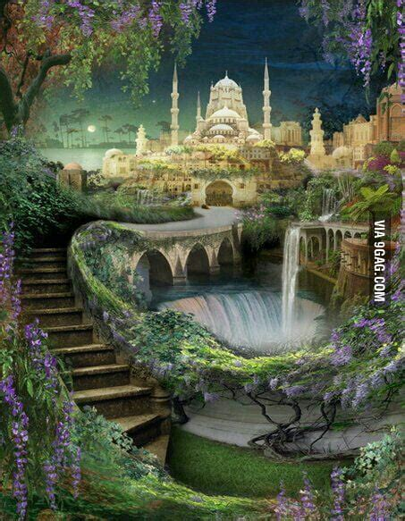 Gardens Of The Ancients - hanging gardens of babylon 1 of 7 wonders of ancient