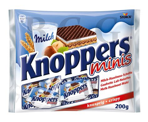Knoppers Minis By Food And Such storck knoppers mini 200 gram big german grocery