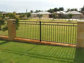Modern Backyard Fence by Modern Wooden Garden Patio Fence Exterior Design Images