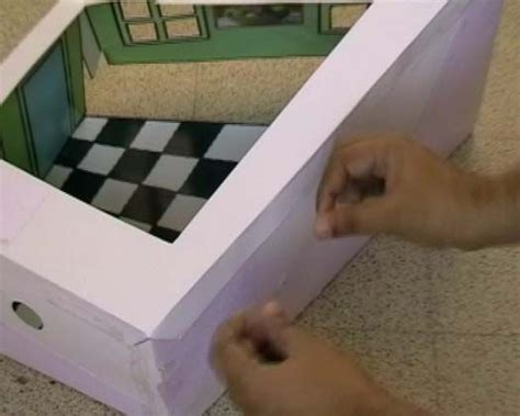 how to build an ames room how to make an ames room optical illusion used in lord of the rings
