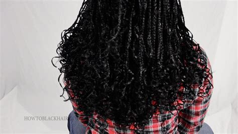 how to curl the ends of synthetic braids how to seal curl the ends of your zillion micro braids