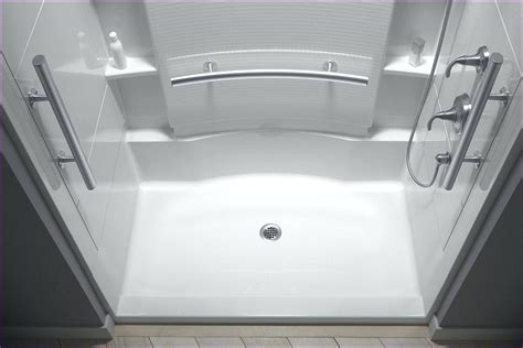 lowes bathroom shower kits shower kits corner shower