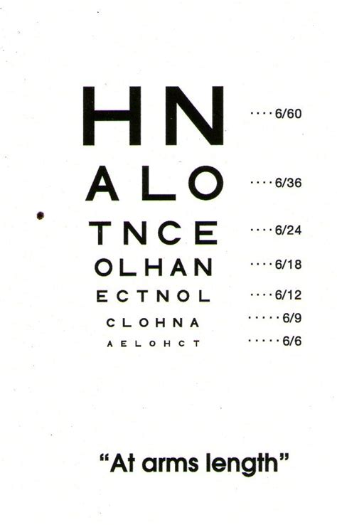 printable eye test chart australia zoo internships