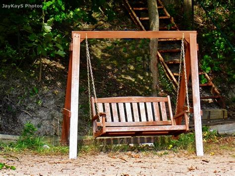 how to make a swing bench bench swing for the home pinterest