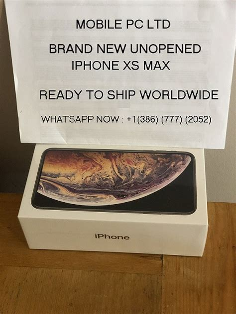 order iphone xs max gbgbgb full package box factory sealed jeddah classified ads