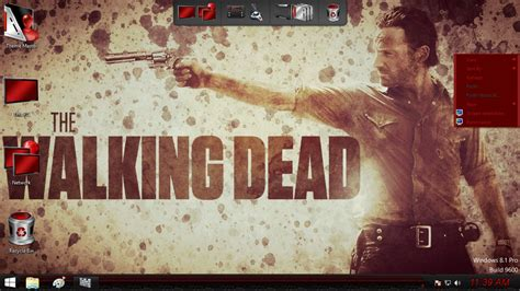 theme psp the walking dead the walking dead theme pack windows 7 childcycdere s blog
