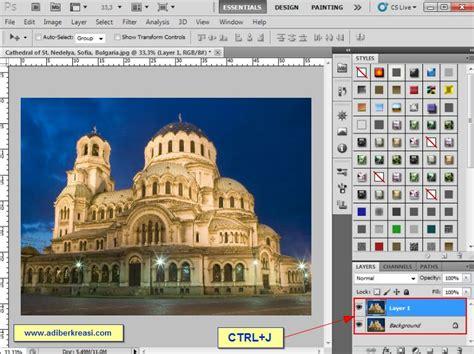 membuat garis blur di photoshop berkreasi yuk membuat bingkai blur menggunakan photoshop
