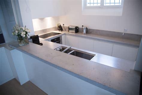 beton arbeitsplatte arbeitsplatte aus beton 30 ideen f 252 r oberfl 228 che in der k 252 che