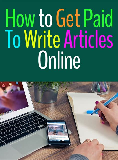 Get Paid Online - how to get paid to write articles online earn 500 a month