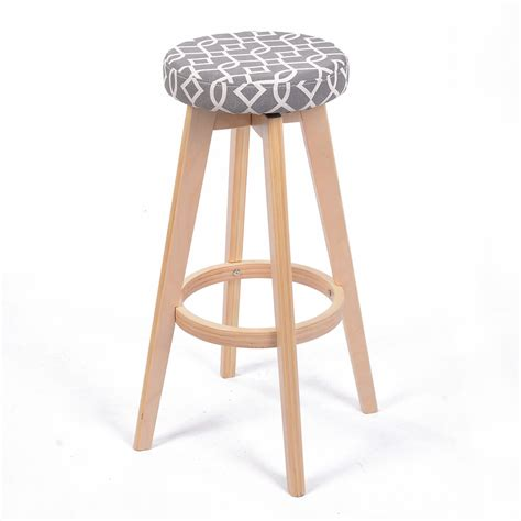 Modern Contemporary Bar Stools by New Modern Backless Wood Chevron Barstool 28 5