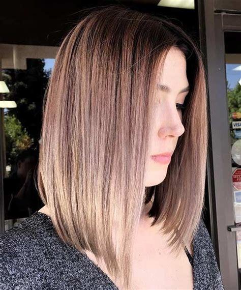 can i straighten my lob 21 cute lob haircuts for this summer angled lob lob