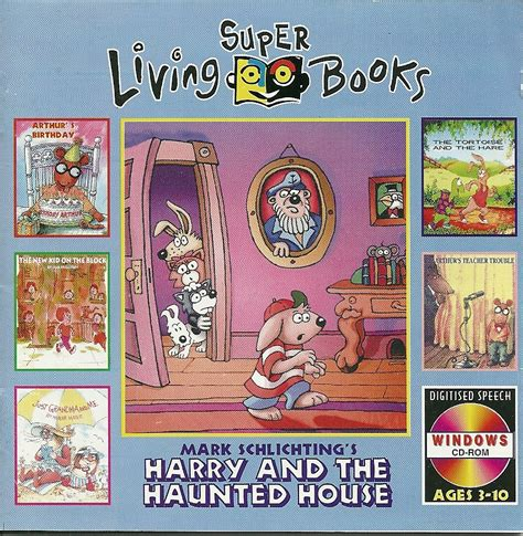 harry and the haunted house super living books harry and the haunted house cd rom mark schlichting video games