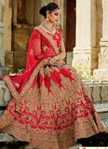 Different Styles Of Draping Dupatta Indian Lehenga Choli Designs For Bridals 2017 Fashioneven