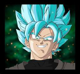 goku black super saiyan blue v5 colnicky deviantart
