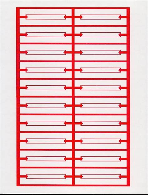 240 red white blank jukebox title strips 12 pages heavy