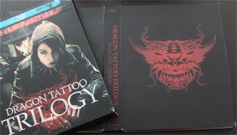 dragon tattoo trilogy extended edition trilogy extended edition dvd