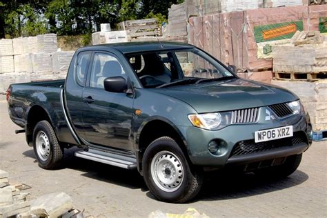 Mitsubishi L200 2006 Van Review Honest John
