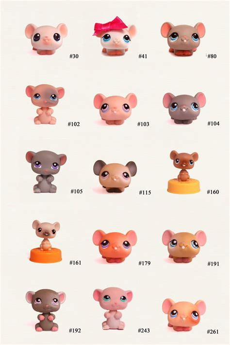 Pet Shop Singles A Mouse 1000 images about lps check list on littlest