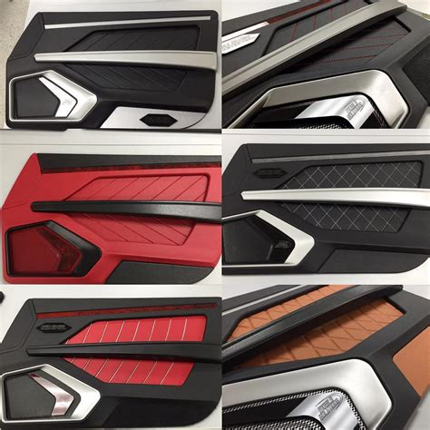 Interior Door Panels For Cars Becausess Custom Door Panels Inserts Fiberglass Router Work Modern Chevelle Maybe Brown