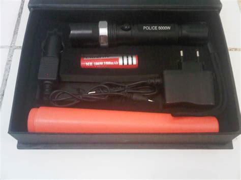 Batery Senter jual senter swat 5000w pouch tabung lalin
