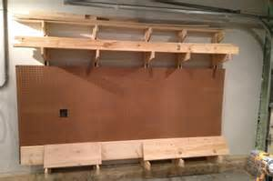 Garage Lumber Storage Ideas How To Build A Wall Mounted Lumber Storage Rack One