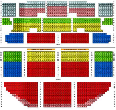 Hammersmith Apollo Floor Plan apollo victoria theatre seating plan events amp shows