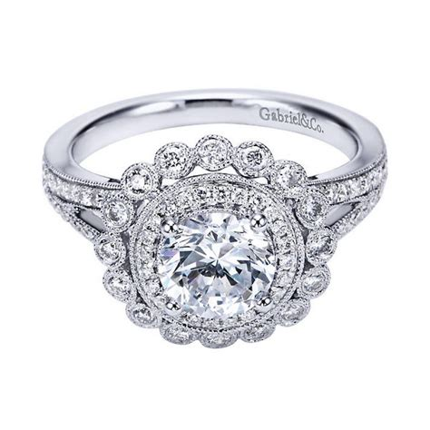 wedding rings vintage style vintage engagement rings